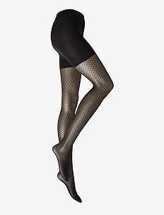 Dots Control Top Tights - muster - black