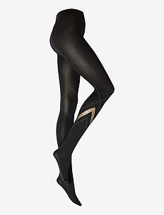 Avery Tights - strumpfhosen - black/hematite