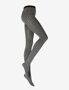 Karter Tights - strumpbyxor - slate/black