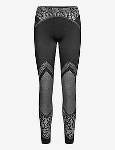 Cameron Leggings - lauf- & trainingstights - black/white