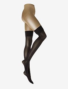 Velvet de Luxe 50 Stay-Up - BLACK