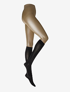 Merino Knee-Highs - knästrumpor - black