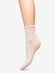Morgan Socks - ankelstrumpor - petal rose
