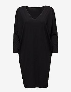 Pure Cut Dress - BLACK