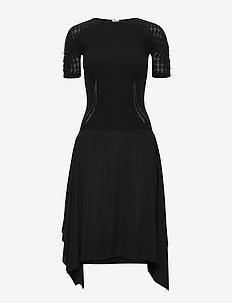 Dylan Dress - midimekot - black