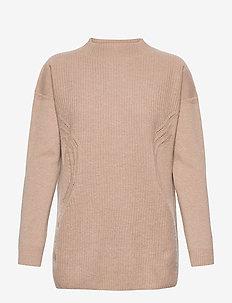 Aurora Wool Pullover - trøjer - kamut