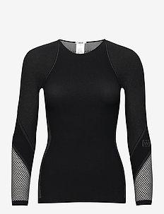 Zen Pullover - långärmade toppar - black/ash