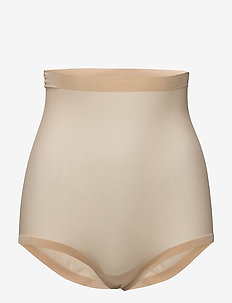 Tulle Control Panty High Waist - NUDE