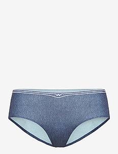 Taylor Panty - slips - texas heavy blue