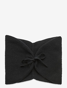 Aurora Wool Scarf - schals - black