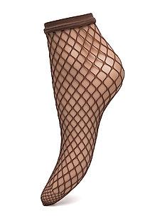 Tina Summer Net Socks - NOISETTE