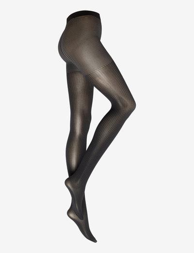 Rey Tights - strømpebukser - black/white