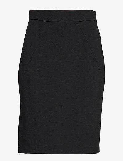 Paris Skirt - midinederdele - black