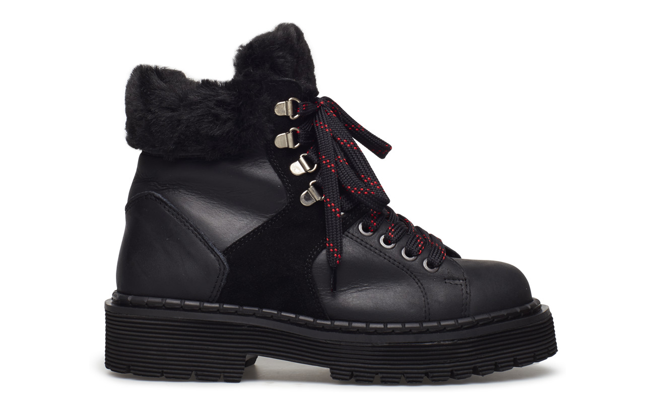 Hundred Won Cuir Black Intérieure Semelle Shoe Intercalaire 100 Caoutchouc Empeigne Mila Colour d0ar0q