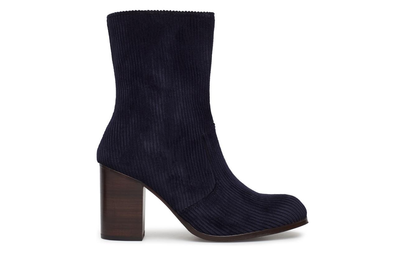 Extérieure Dark Cuir Hundred Doublure Blue Supérieure Marit Semelle Colour Won 100 Shoe Coton Empeigne PRInqOT