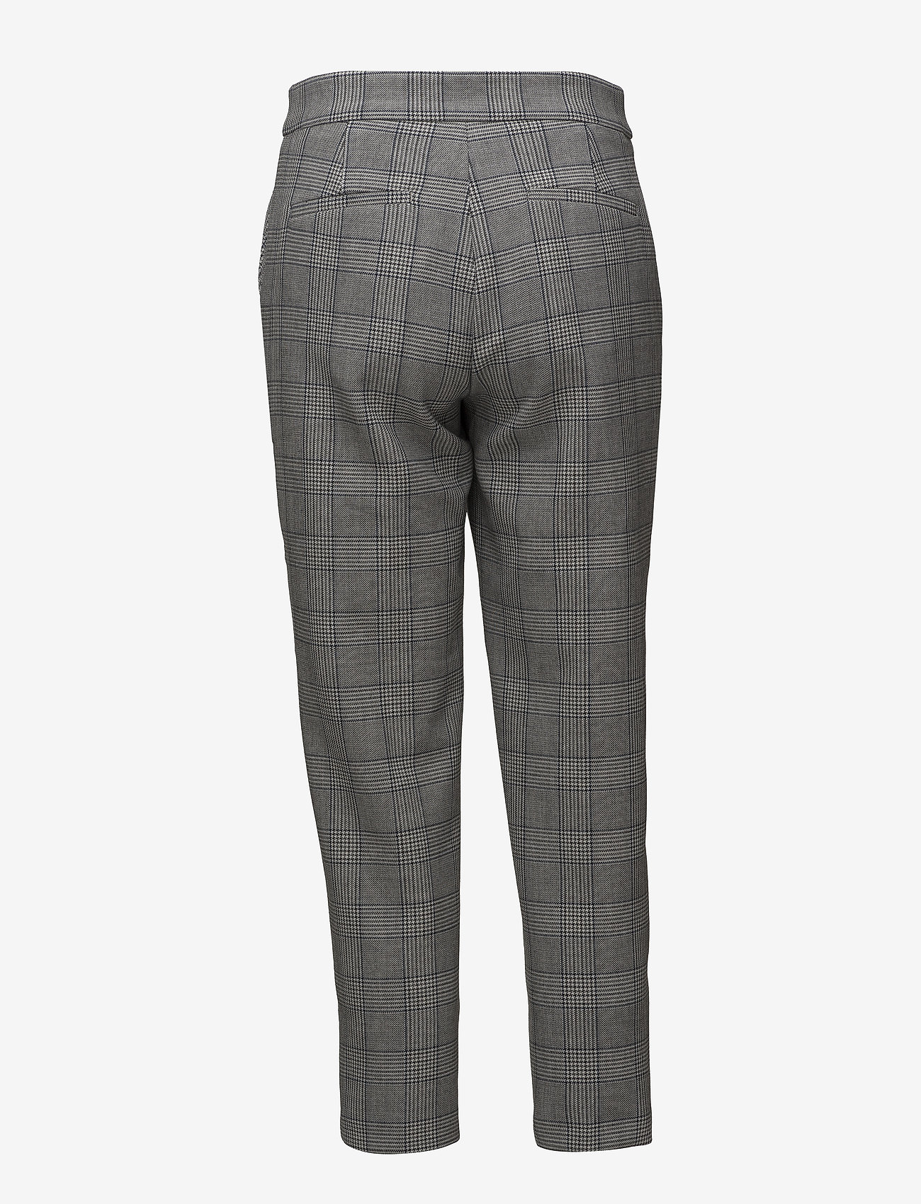 Won Hundred - ELISSA - casual trousers - black white check