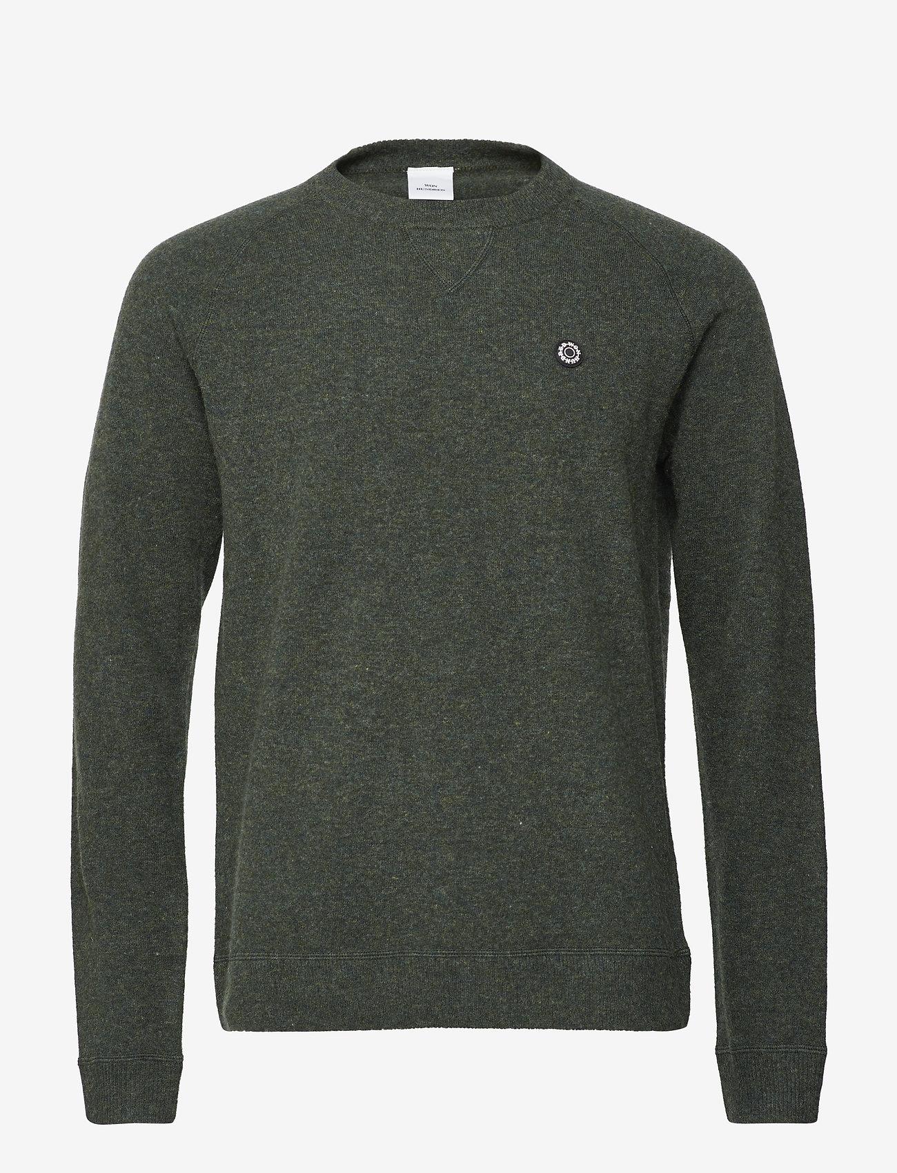 Won Hundred - Martin - basic knitwear - forrest green