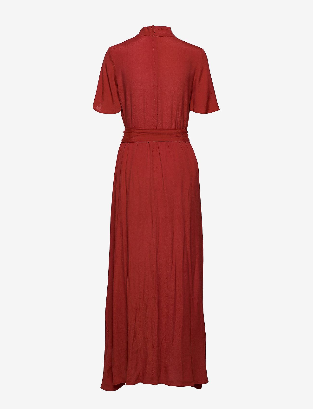 Won Hundred - ELENA LONG - robes maxi - rusty red