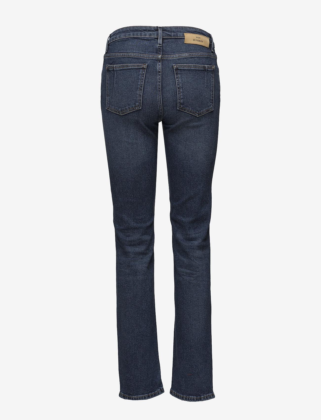 Won Hundred - VICKY B 81 Blue - straight jeans - 81 blue