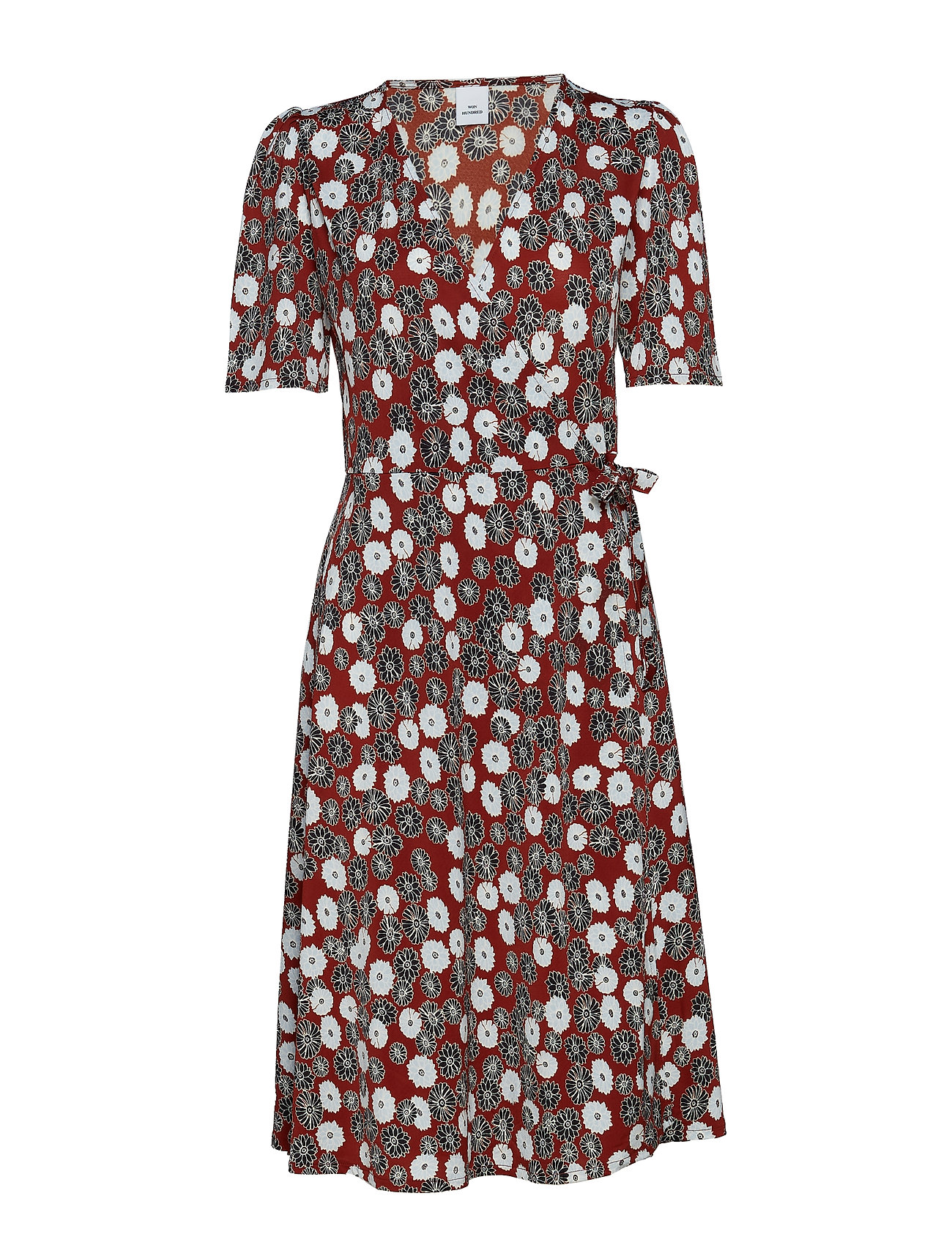 Won Hundred Stella - DAISY FLORAL PRINT RED