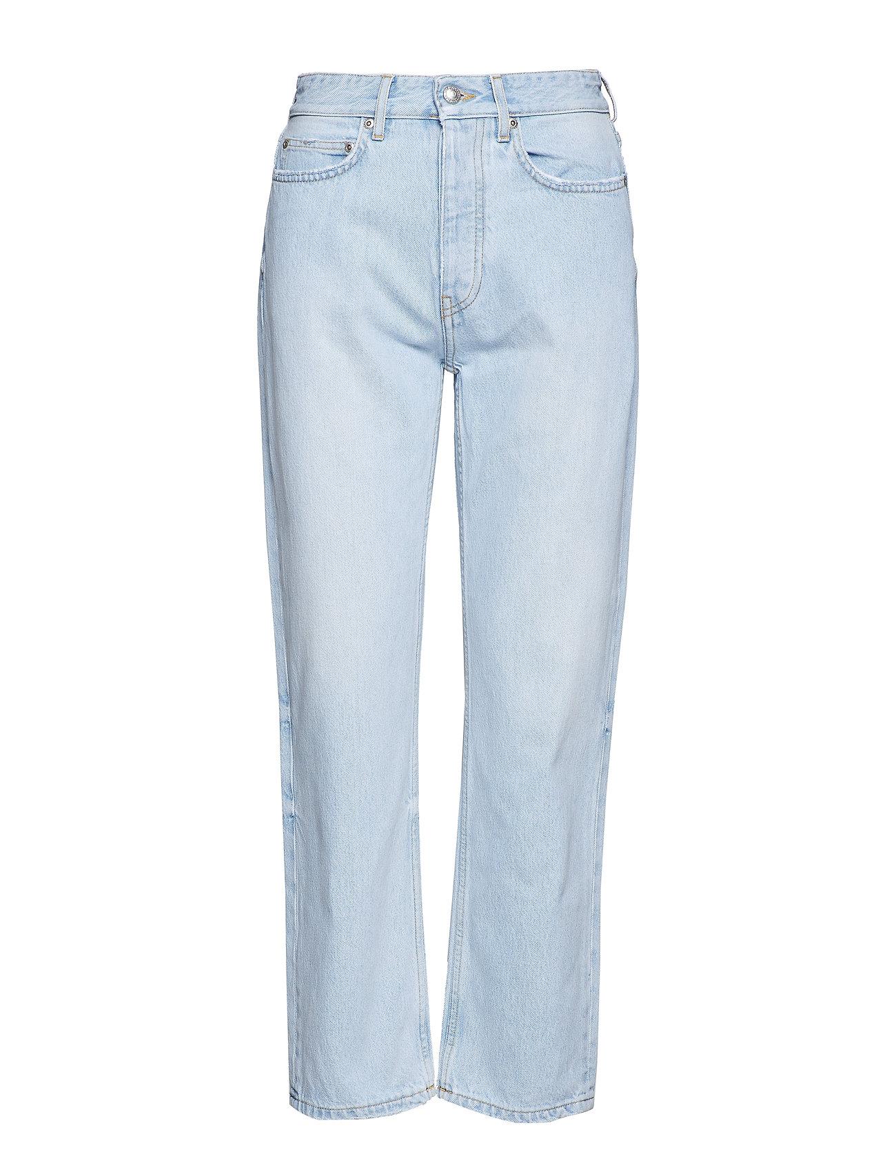 260d8277915 Pearl Ice Blue straight leg jeans fra Won Hundred til dame i ICE ...