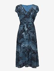 Won Hundred - Dagmar - midimekot - palm tree aop blue - 0