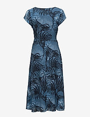Won Hundred - Dagmar - midimekot - palm tree aop blue - 1