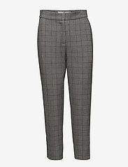 Won Hundred - ELISSA - casual trousers - black white check - 0