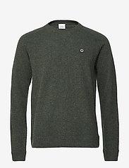 Won Hundred - Martin - basic knitwear - forrest green - 0