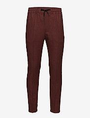 Won Hundred - Calvin - pantalons décontractés - rusty red - 0