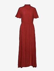 Won Hundred - ELENA LONG - maxi dresses - rusty red - 2