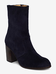 Won Hundred - MARIT - ankle boots with heel - shoe colour dark blue - 0