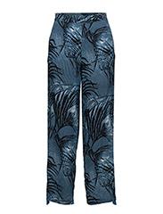 Lilian - PALM TREE AOP BLUE