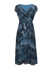 Dagmar - PALM TREE AOP BLUE
