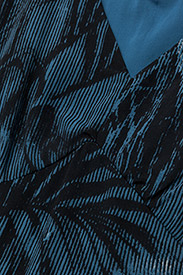 Won Hundred - Dagmar - midimekot - palm tree aop blue - 2
