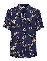 Shelby - TROPICAL LEAF PRINT