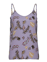 Amelia - PURPLE TROPICAL PRINT