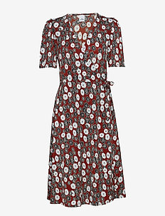 Stella - DAISY FLORAL PRINT RED