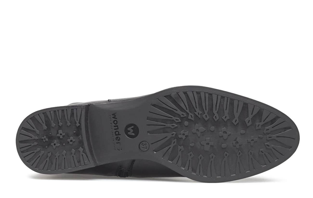 C Supérieure Outsole Cuir 100 Negro Wonders Synthetic Helsinky Partie 4147 S8xwXd