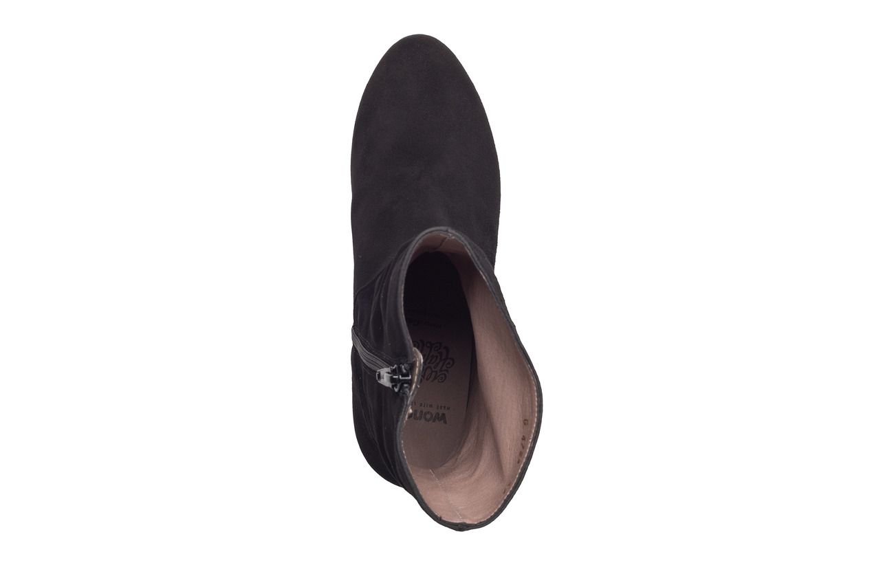 Wonders 100 G Synthetic Partie Outsole Cuir Ante Negro 4724 Supérieure YYHaUrq