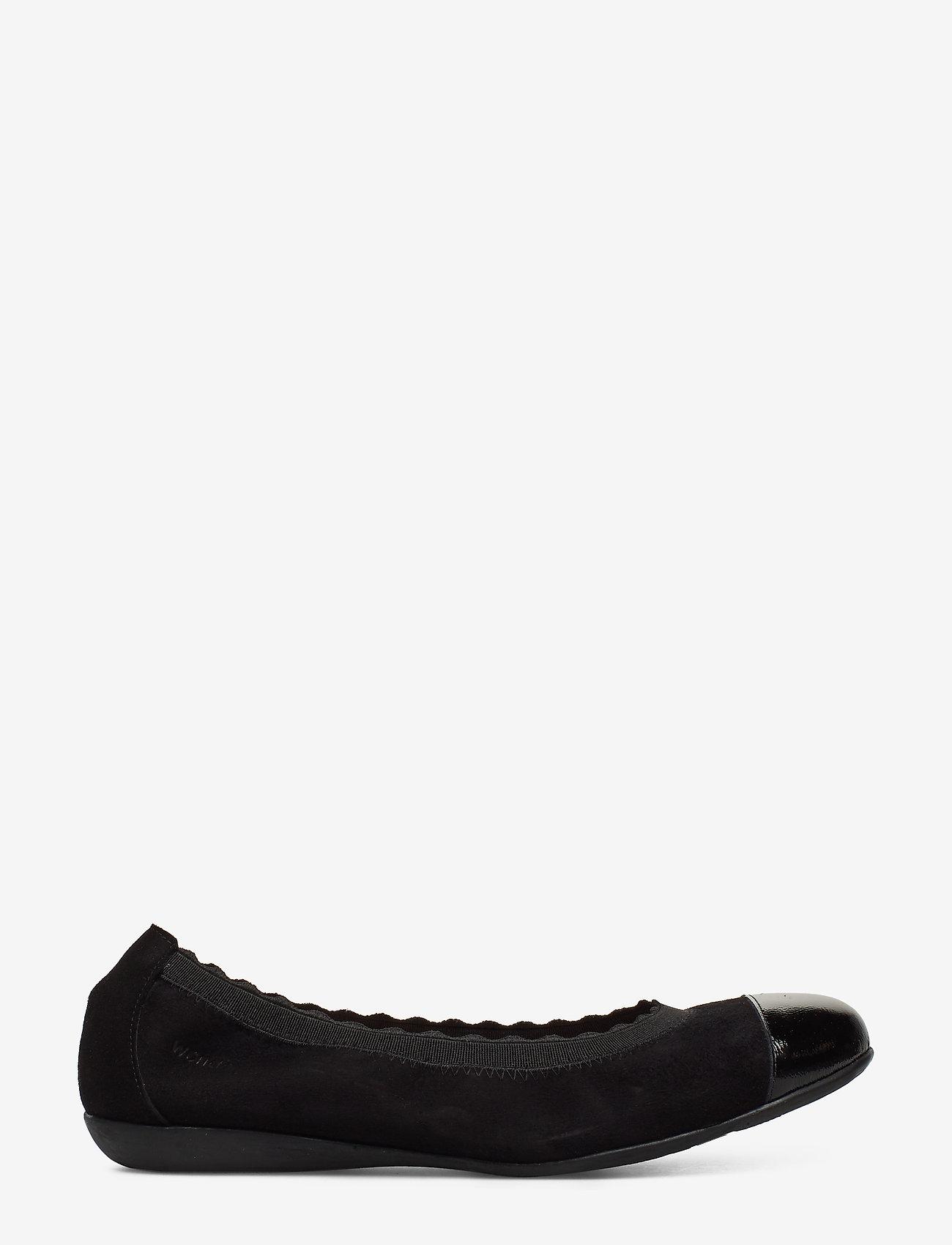 Wonders - A-6170 - loafers - black - 1