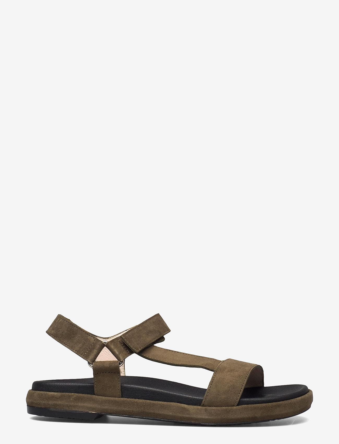 Wonders - B-7410-F ANTE - platta sandaler - green - 1