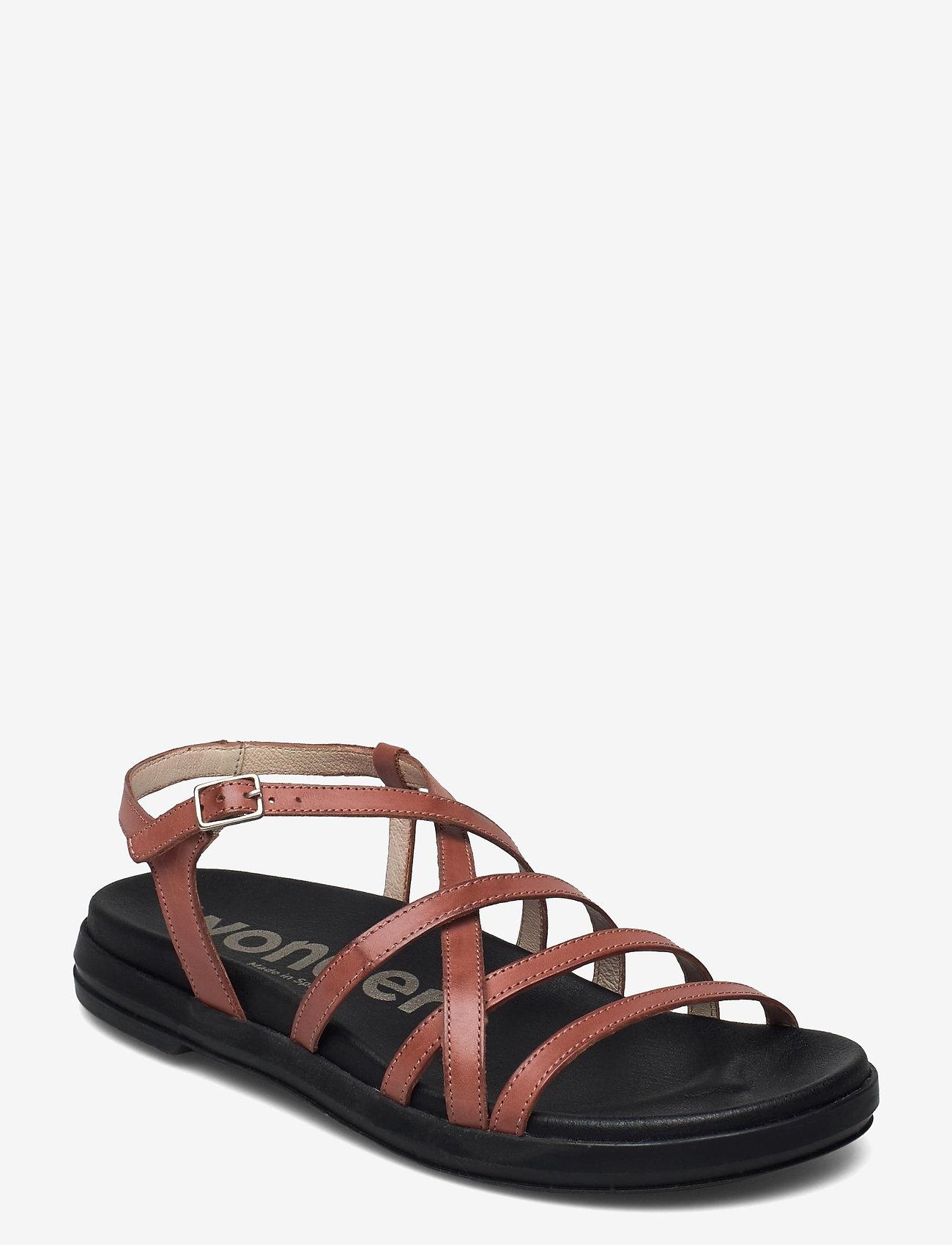 Wonders - B-7412 PERGAMENA - platta sandaler - brown - 0