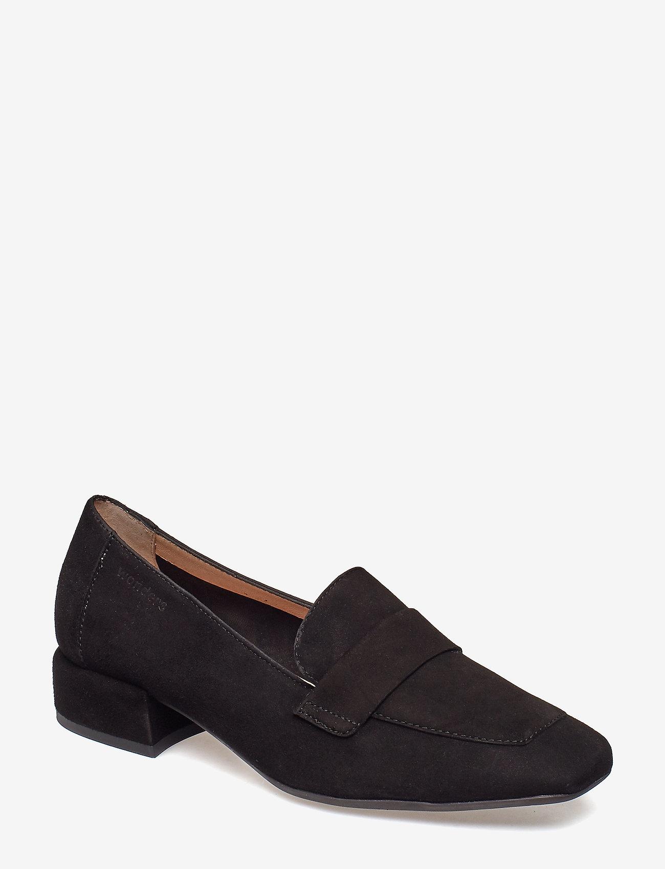 Wonders - C-5020 - loafers - black - 0