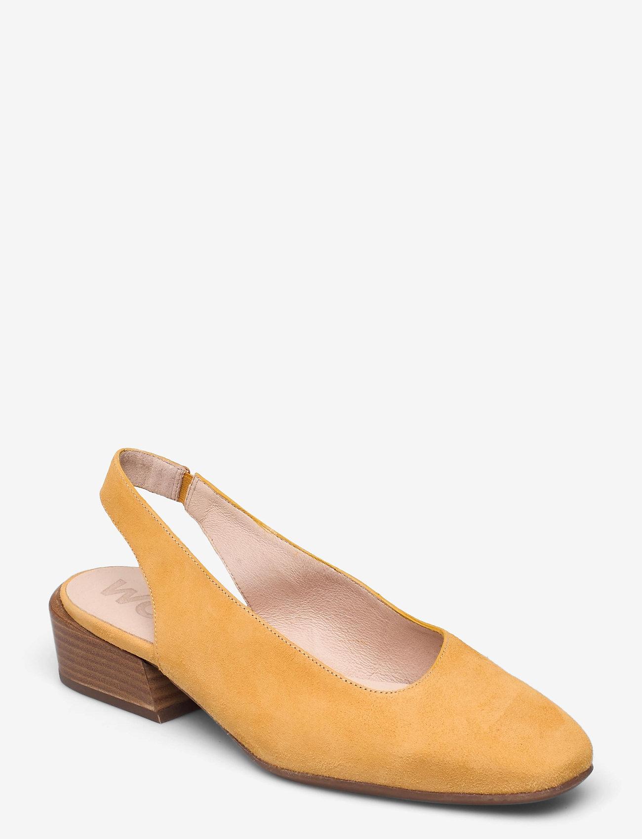 Wonders - C-6313 ANTE - sling backs - yellow - 0