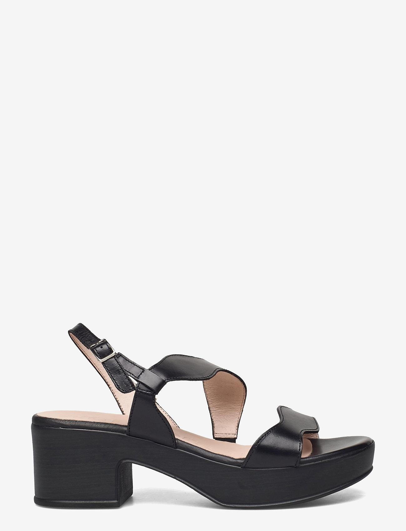 Wonders - D-8813-P PERGAMENA - högklackade sandaler - black - 1