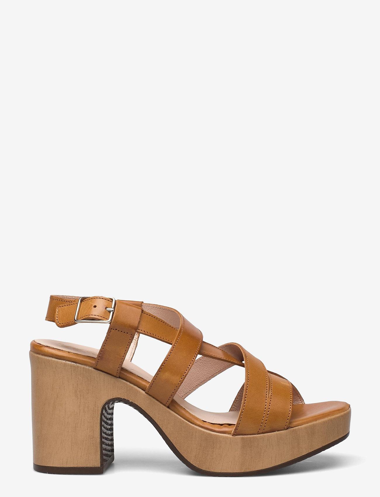 Wonders - L-1002 PERGAMENA - högklackade sandaler - brown - 1