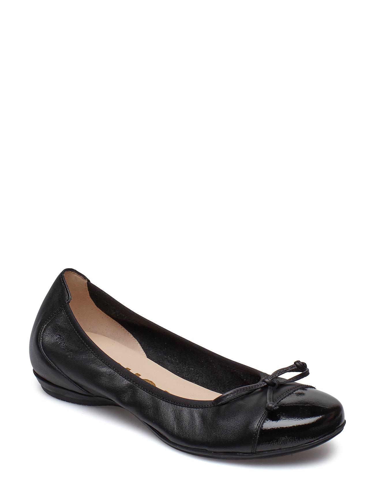 2a29dc5860e Wonders ballerina sko – A-30112 til dame i Sort - Pashion.dk