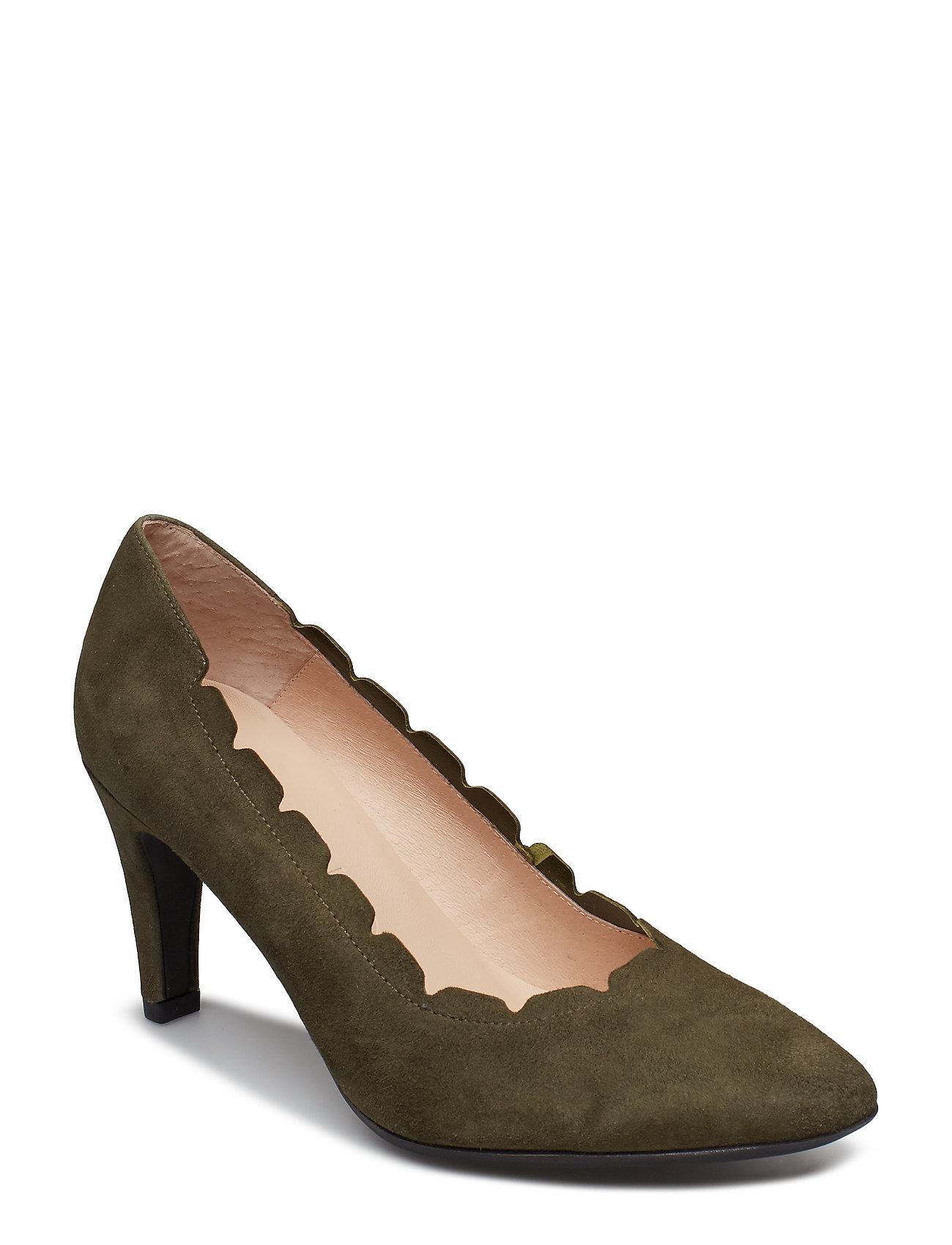 Image of M-2081 Shoes Heels Pumps Classic Grøn Wonders (3406174047)