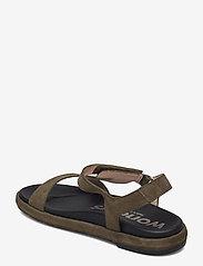 Wonders - B-7410-F ANTE - platta sandaler - green - 2